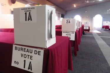 bureau de vote 27 octobre 2013