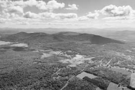 Mont Shefford noir et blanc