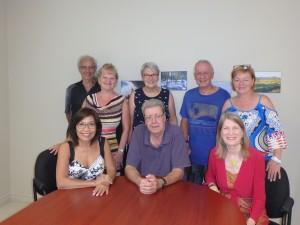 Les membres du C.A. des Aînés Actifs+ de Shefford.